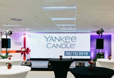 Grand opening Yankee Candle