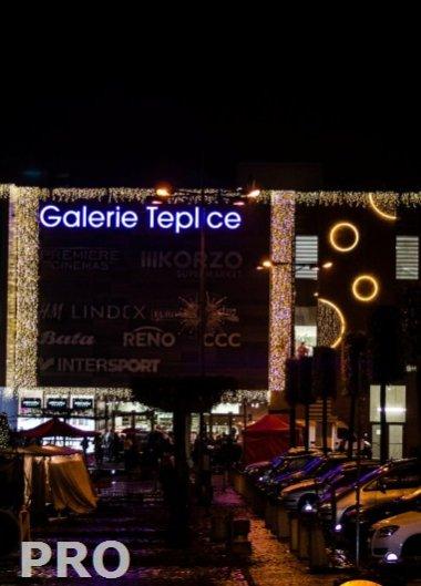 Zahájení Vánoc v OC Galerie Teplice
