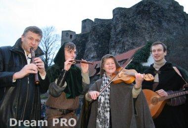 Advent na hradě Střekov