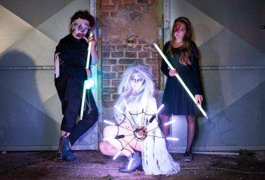 Vox Luminas - strašidelná show světelná