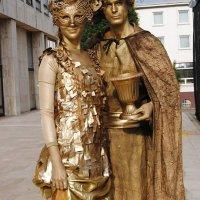 Creative show - Živé sochy
