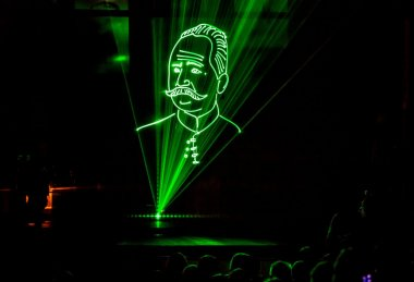 Laser show Richarda Macha