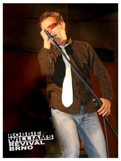 Robbie Williams revival Brno