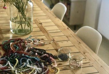 Výroba šperků z minerálů a polodrahokamů