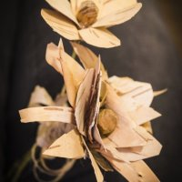 Výroba dřevěných květů