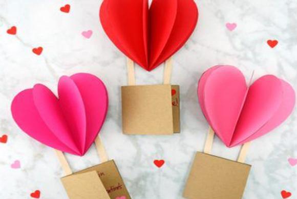Výroba Valentýnky