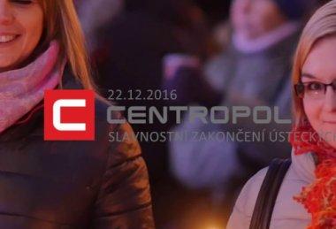 Slavnostní zakončení ústeckých Vánoc s Centropolem 2016
