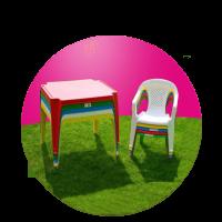 Party nábytek pro děti