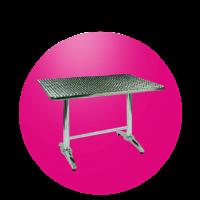 Obdelníkový stůl