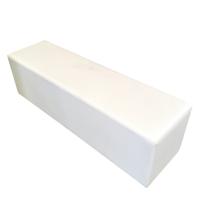 Sedák Kubix bílý pro 3 osoby