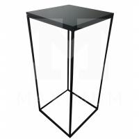 Bistro stůl kovový černý
