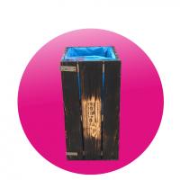 Dřevěný koš Morales Aussig ™