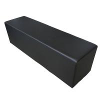 Sedák Kubix černý pro 3 osoby