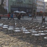 Židle skládací černá nebo šedivá