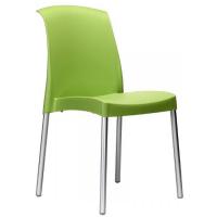 Plastová židle zelená
