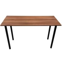 Stůl hnědý úzký