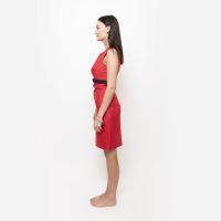 Červené šaty hladké
