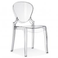 Židle Queen čirá