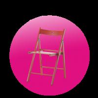 Židle TERJE červená