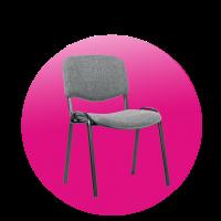 Židle TAURUS šedá
