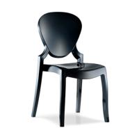 Židle Queen černá