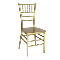 Židle Tiffany zlatá