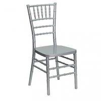 Židle Tiffany stříbrná