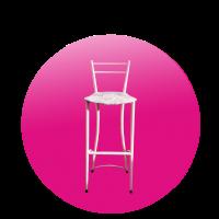 Židle LILA vysoká