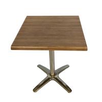 Stůl kavárenský hnědý