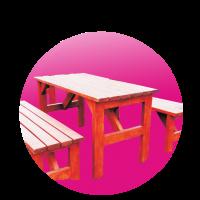 Stůl zahradní