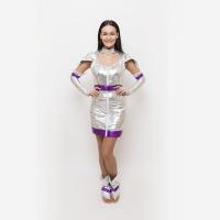 Vesmír - kostým fialová