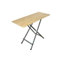 Vysoký bistro stůl dřevěný
