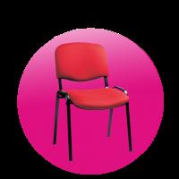 Židle TAURUS červená