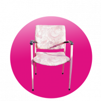 Židle LILA široká
