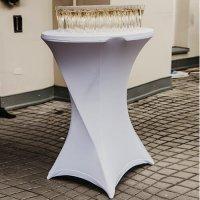 Ubrus bílý vč. čepice - 60 cm