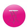 Barový stůl skládací - Půjčovna Dream PRO