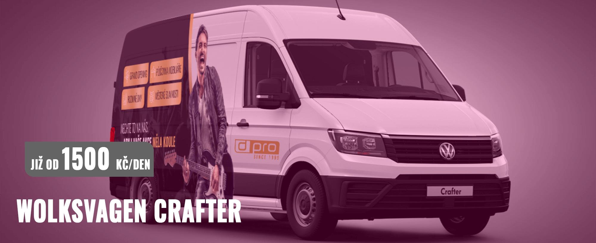 Dream PRO - Půjčovna užitkových vozů - Crafter