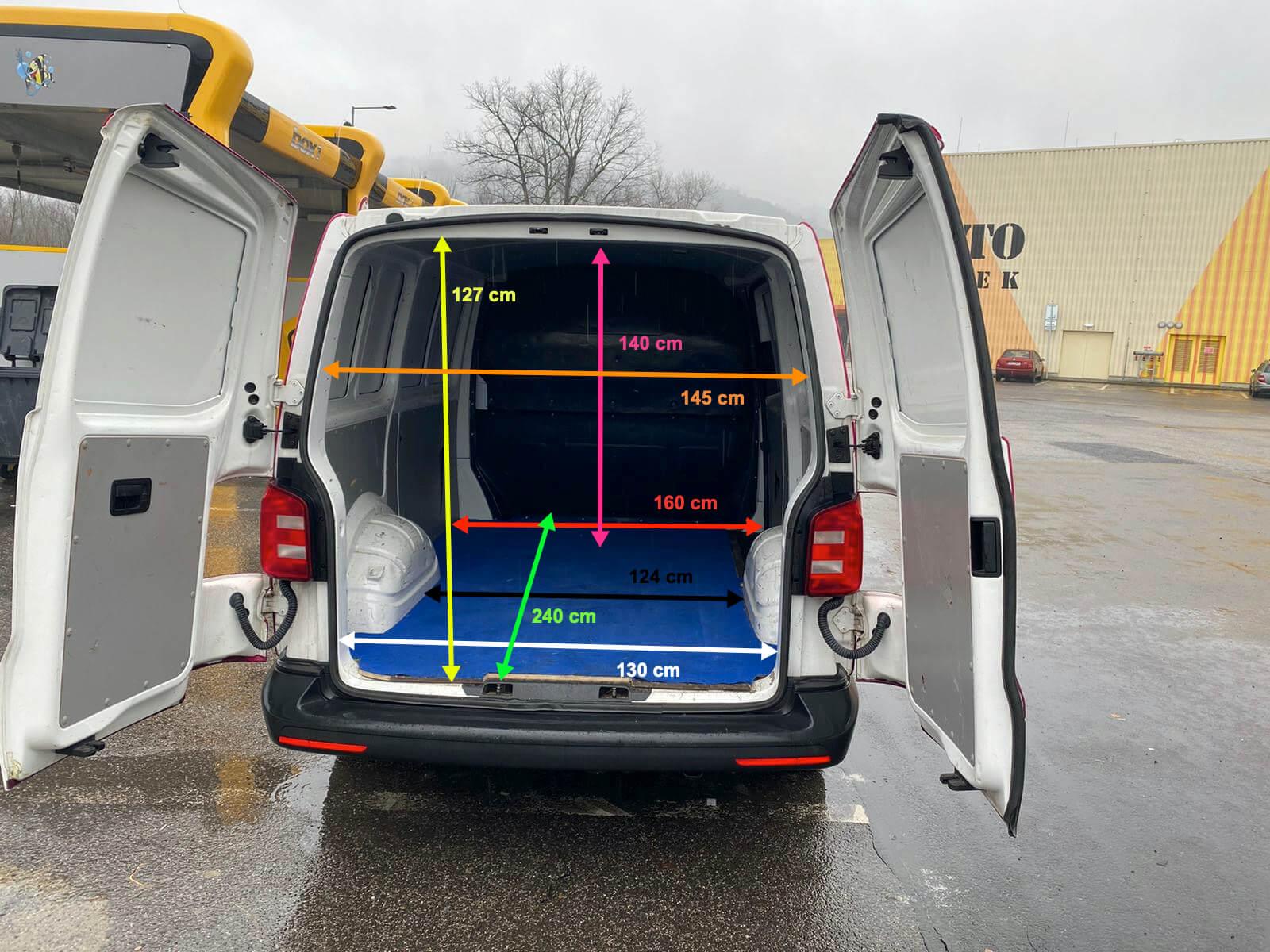 Dram PRO - Půjčovna - Volkswagen Transporter