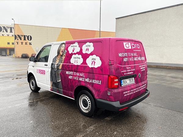 Dream PRO - půjčovna užitkových vozů - Volkswagen Transporter
