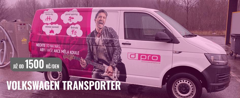 Dream PRO - Půjčovna užitkových vozů - Transporter