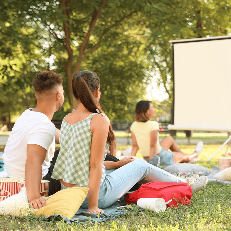 Léto plné zábavy - Letní kino - Dream PRO