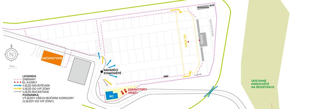 Autodrom Most - Mapa - Autokoncert